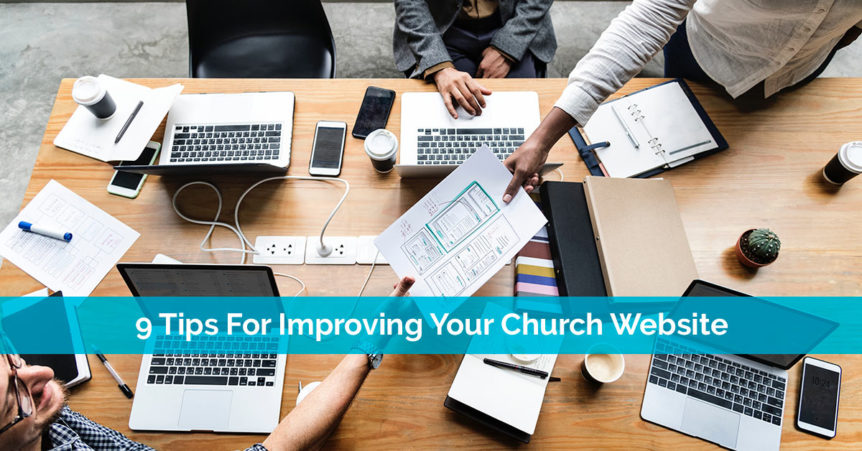 9 tips for improving your church website