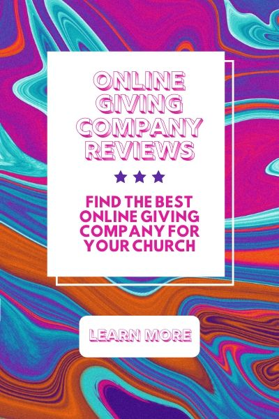 Online Giving For Churches