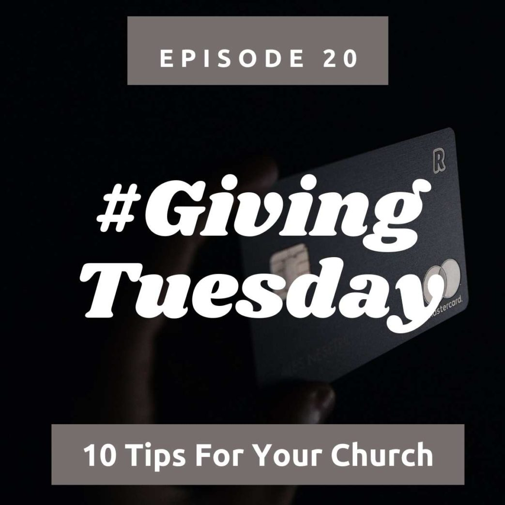 #Givingtuesday - 10 tips for churches